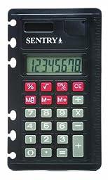 SENTRY CA378 Solar Powered Notebook Standard Function Calculator