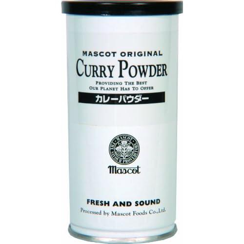 マスコット カレーパウダー 缶入り 80g