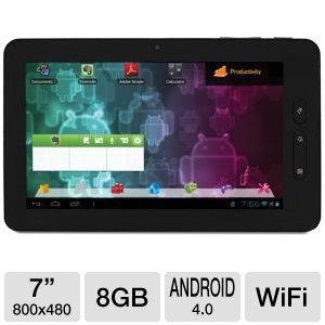 Visual Land Connect VL-879-8GB-BLK-ICS Android 4.0 Ice Cream Sandwich Internet Tablet (Black)