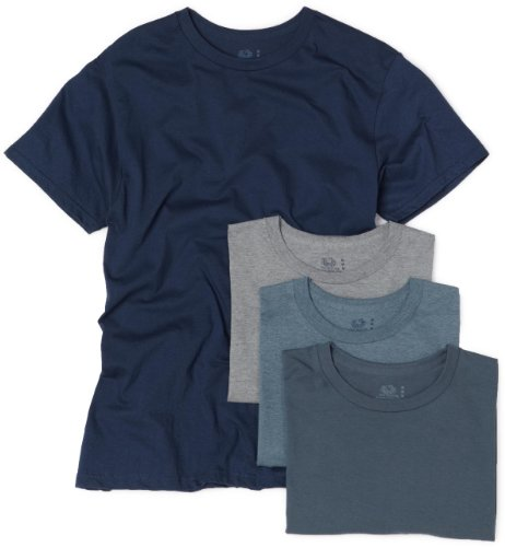 Fruit of the Loom Men's 4-Pack Crew Neck T-Shirt