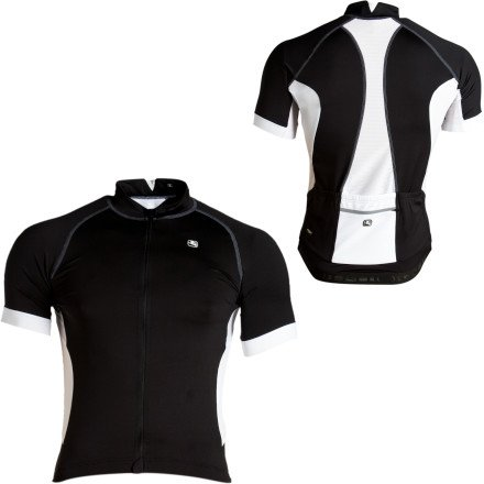 Buy Low Price Giordana Laser Jersey – Short-Sleeve – Men's Black/White Accents, XL (GI-S1-SSJY-LASE-BLCK-XL)