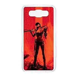 a AND b Designer Printed Mobile Back Cover / Back Case For Samsung Galaxy E7 (SG_E7_2205)
