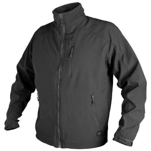 Helikon Urban Tactical Line Mens Delta Jacket Fleece Lined Airsoft Hiking Black