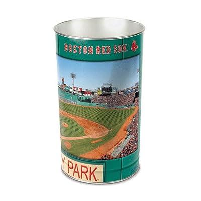 "MLB Boston Red Sox Tapered Wastebasket, 15"""