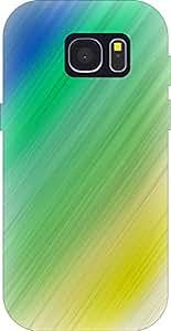 Go Hooked Designer Soft Back cover for Samsung S7 Plus + Free Mobile Stand (Assorted Design)