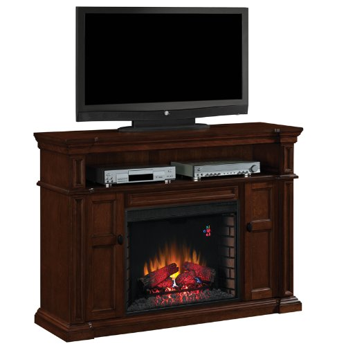 Wyatt Media Mantel In Vintage Mahogany 28Mm4684-M313 Mantel Only