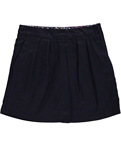 "Nautica Big Girls' ""Flower Band"" Scooter Skirt - navy, 12"