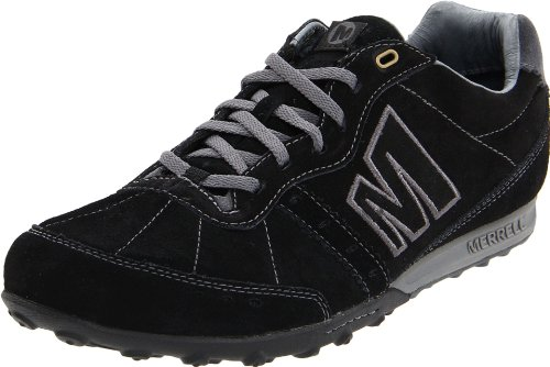 Merrell Men's Miles Black/Castle Rock Lace Up J15683 8 UK