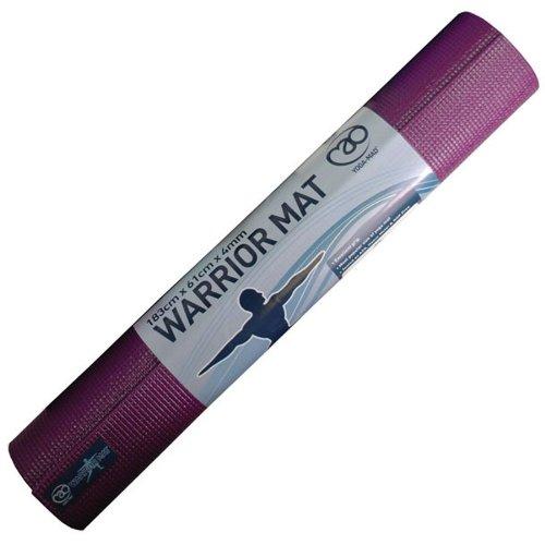 Fitness Mad Warrior Plus Yoga Mat Colour Aubergine
