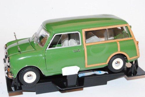 Mini Morris Cooper Traveller Kombi Grün 1968 1/18 Kyosho Modell Auto