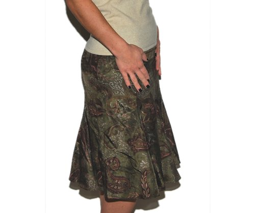 Polo Ralph Lauren Womens Silk Skirt Dress Paisley 4P