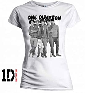 One Direction Boy Band T-Shirt by England
