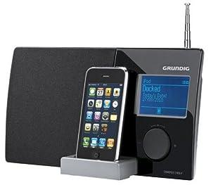 Grundig Cosmopolit 3F WEB iP Internetradio (LCD, UKW-Tuner, iPod-Dock, WLAN) schwarz