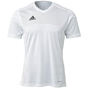 Amazon.com : Adidas Youth Climacool Tiro 13 Jersey Medium White/White