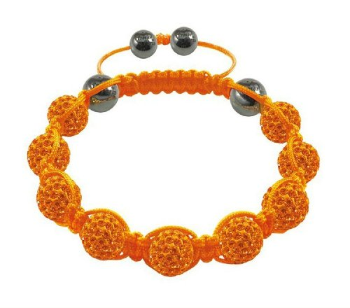Dream Jewelry Free Shipping 10mm Shamballa Bracelet 9pcs Crystal Disco Ball Magnetite