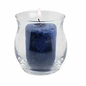 Anchor Hocking 4-1/2-Ounce Hurricane Votive Candle Holder, Pack of   12