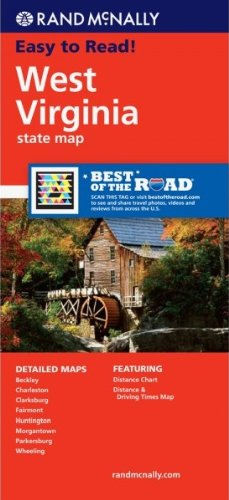 Rand McNally Folded Map: West Virginia