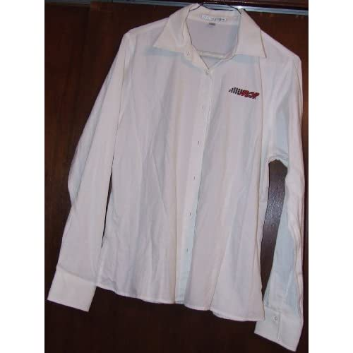 Richard Childress Racing White Dress Shirt Long Sleeve