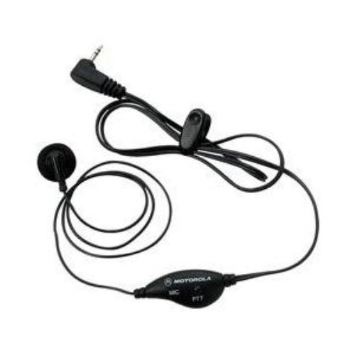 53727 Earbud With Push-To-Talk Microphone Motorola Talkabout Headsets/Earsets -Wynit