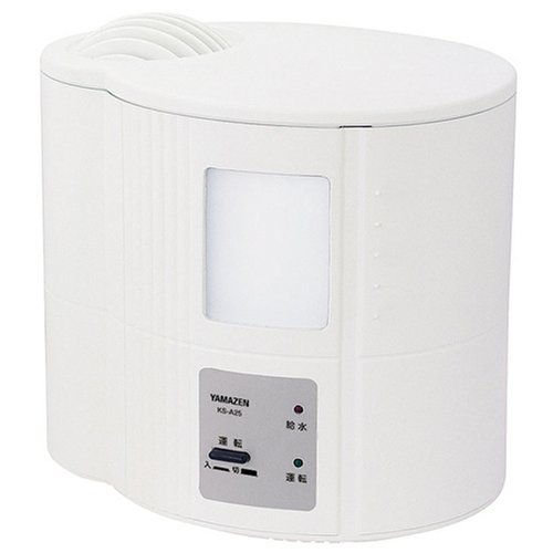 【Amazonの商品情報へ】YAMAZEN 加湿器 KS-A25(W) ホワイト