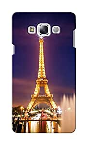 CimaCase Eiffel Tower Designer 3D Printed Case Cover For Samsung Galaxy E7