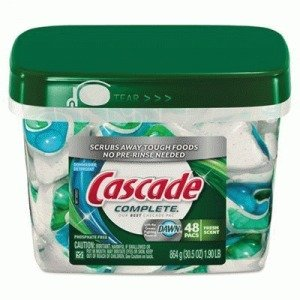 Cascade 91165 All In 1 Actionpacs Dishwasher Detergent 46
