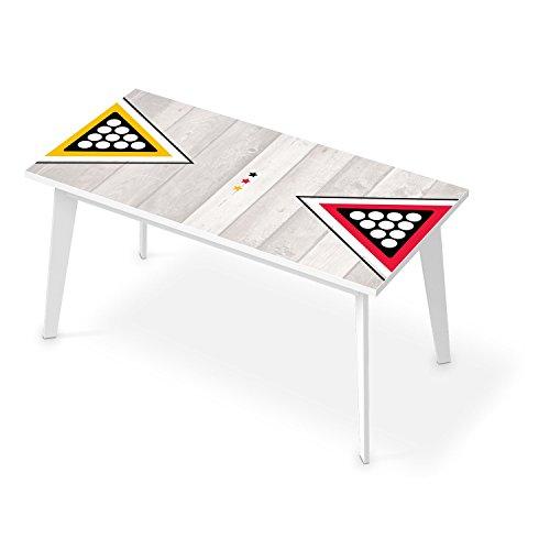 Tischfolie f r tisch 150x75 cm dekor k chentisch folie for Raumgestaltung arbeitszimmer