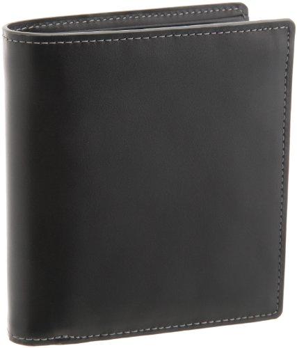 [バルア] Barua カラーステッチ ボックス型小銭入れ二つ折り財布 メンズ 150-991 GY (グレー)