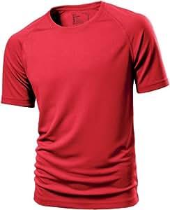 H7700 2-er Pack Hanes Cool-DRI® T-Shirt, Red , Gr. XL XL,Red