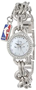 Game Time Ladies NBA-CHM-HOU Charm NBA Series Houston Rockets 3-Hand Analog Watch by Game Time
