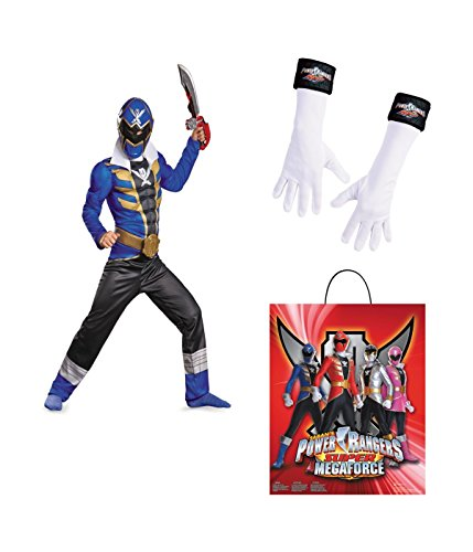 Power Rangers Super Megaforce big Boys Blue Ranger full Costume