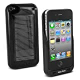 Premium Solar Powered Battery Charger Case for iPhone 4 & 4S