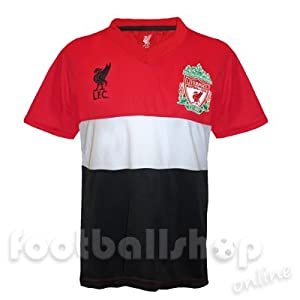 Liverpool FC Boys Poly Panel Training Kit T-Shirt Red 12-13 Years from Liverpool