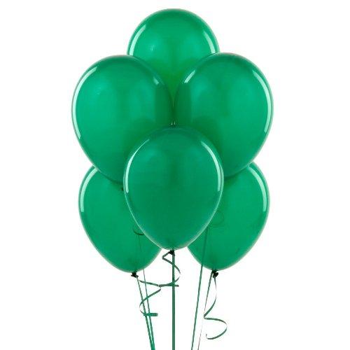 "Emerald Green 12"" Latex Balloon 10 Count"