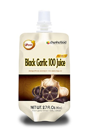 Chunho Food Black Garlic 100 Premium Juice (Pack of 60) (Black Garlic Juice compare prices)