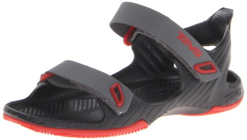 Teva Barracuda T Water Shoe (Toddler),Charcoal Grey,6 M Us Toddler front-1058387