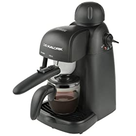 Kalorik EXP 25022 800W 4-Cup Espresso Maker  Best Steam Driven Espresso Machine