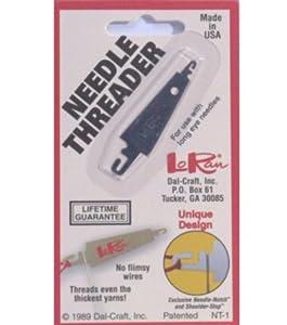 Needle Threader For Large Eye Needles