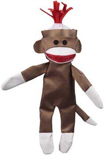 Jw Pet Company Crackle Heads Canvas Monkey Dog Toy, Large
