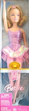 Barbie Beautiful Ballerina Doll (2006) by Mattel, made in Indonesia (English Manual)