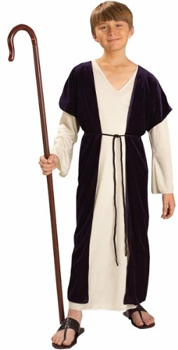 Kids Biblical Shepherd Costume Boys Christmas Outfit