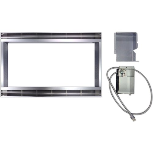 Sharp Rk44S24 24 In. Built-In Kit, In Stainless Steel front-574700