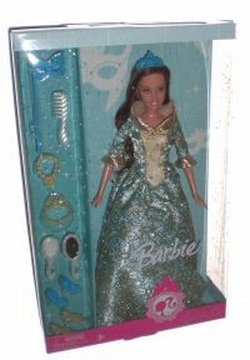Barbie Renaissance Princess Doll Blue