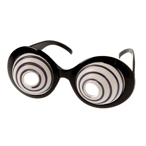 US Toy Swirling Eye Glasses Toy