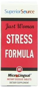 Superior Source Just Women - Stress multivitamins, 60 Count