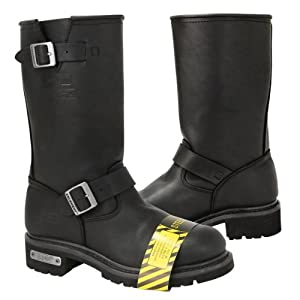 Xelement Mens Motorcycle Steel Toe Engineer Boot - 11
