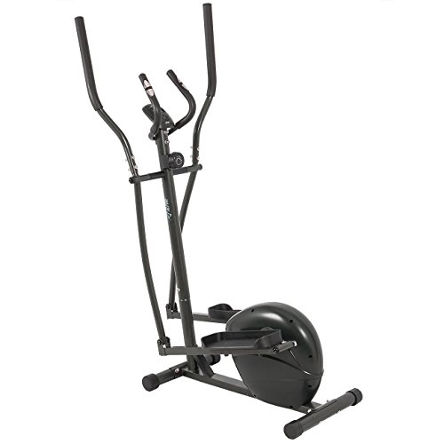 ALPINE© Fitness Magnetic Elliptical Cross Trainer, 8 Resistance Level, GYM Equipment Training Body Workout