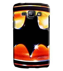 Blue Throat Wave Design Printed Designer Back Cover/Case For Samsung Galaxy J1 Ace