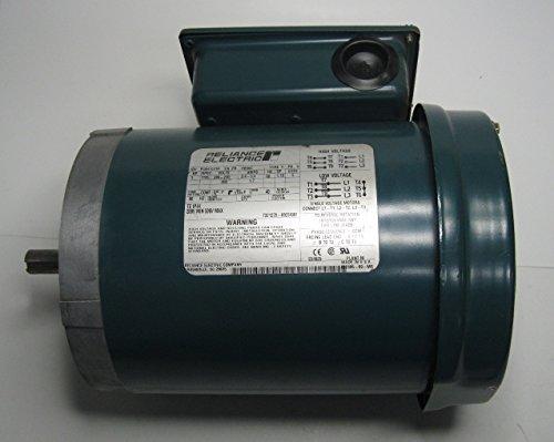 Reliance Electric Motor 1 Hp 208-230/460 Vac P56H1441H