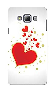 CimaCase Hearts Designer 3D Printed Case Cover For Samsung Galaxy A7
